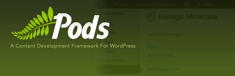 Pods WordPress plugin