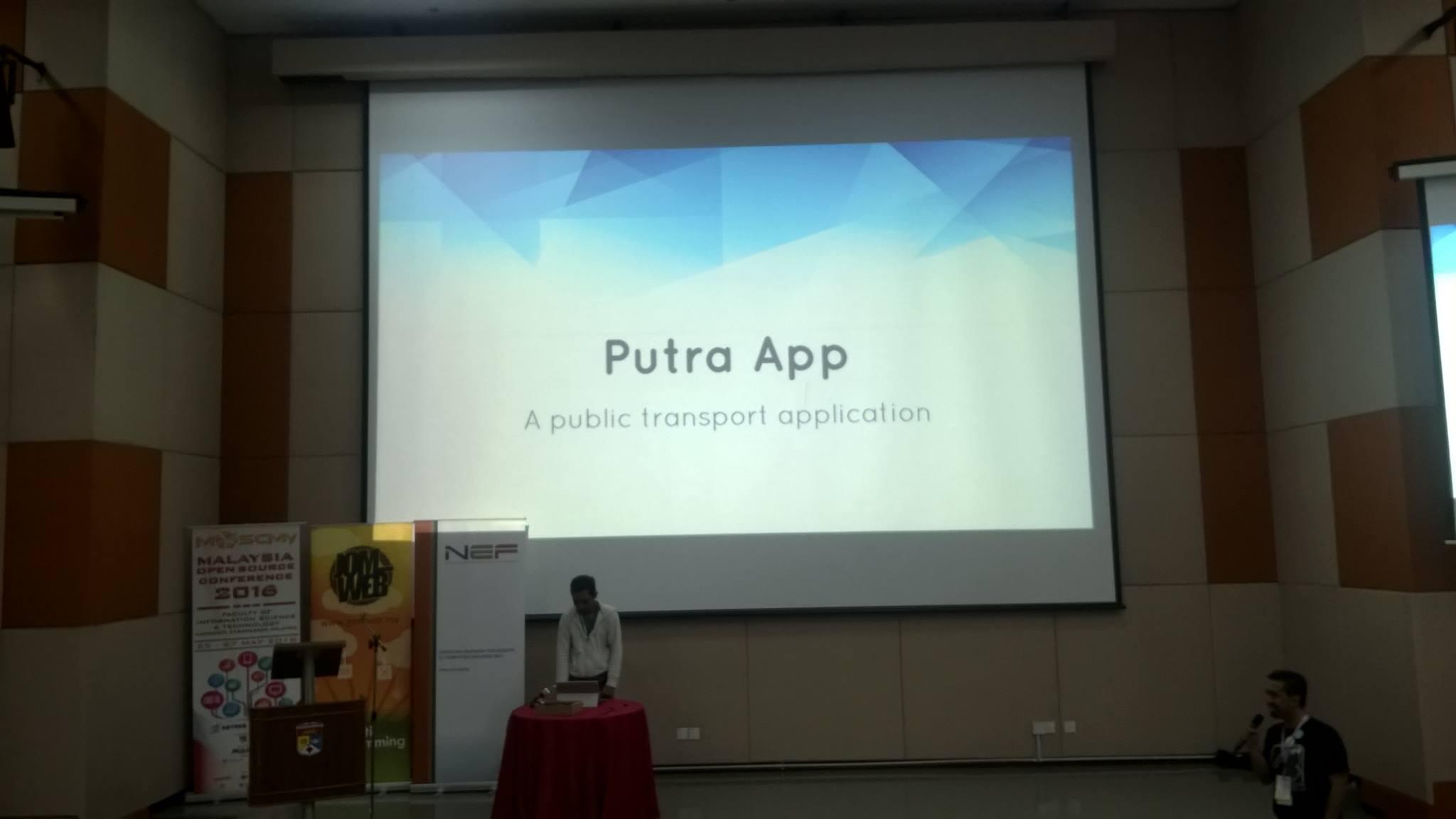 Putra App for Jomlaunch