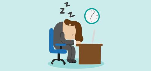Man Sleeping on Office Desk. Vector By FreePik from http://www.freepik.com