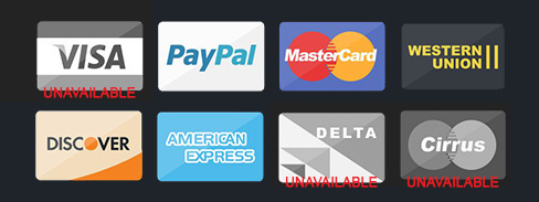 Unavailable Payment Options