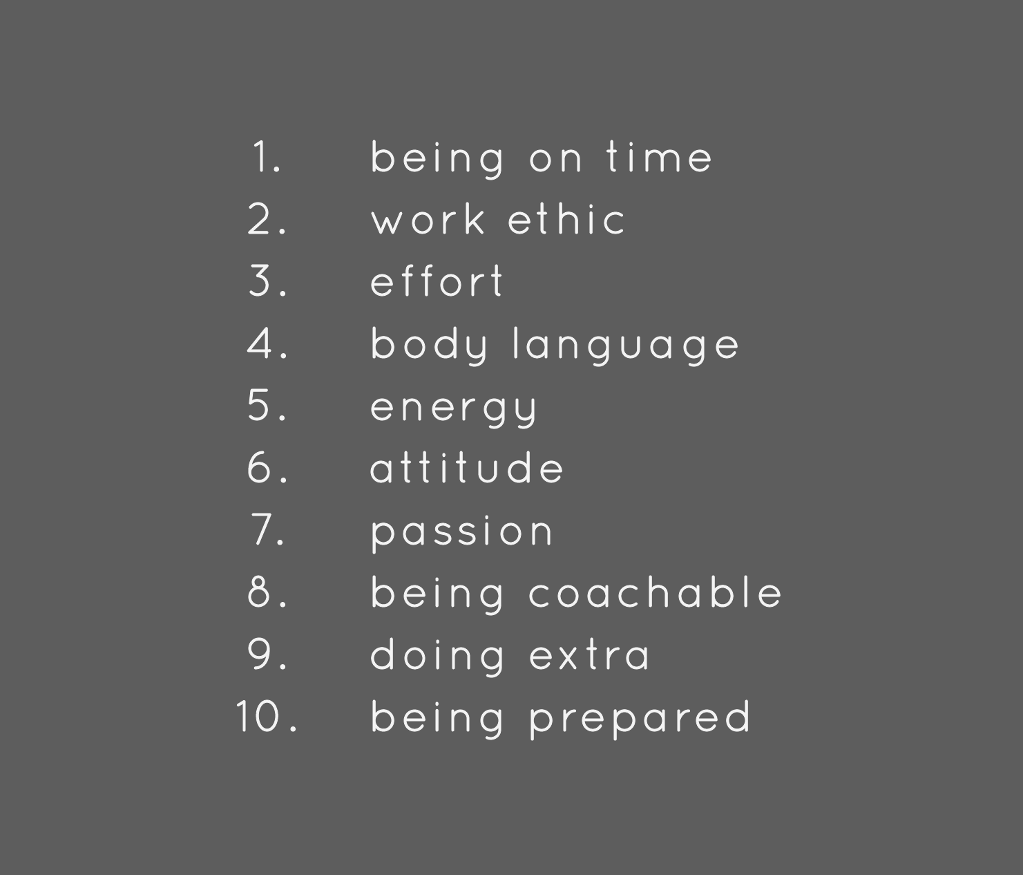 Things That Require Zero Talent