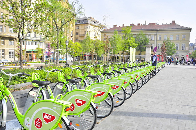 Bicycles of Budapest