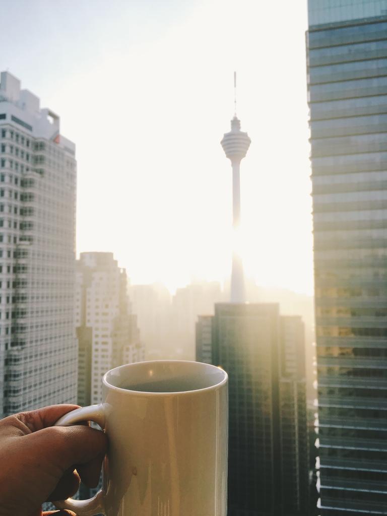 KL Morning Skyline