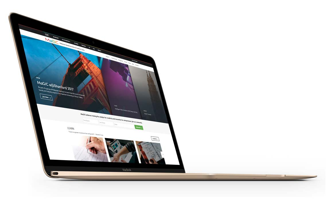 MaGIC new website