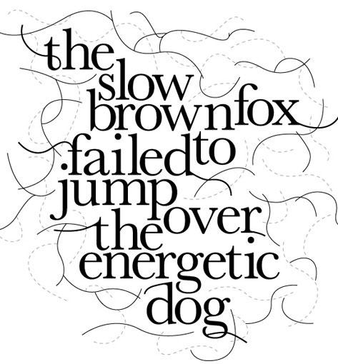 slow brown fox